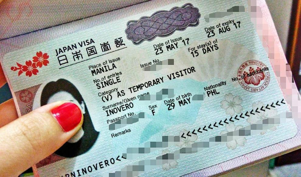 Denied Japan Tourist Visa in Philippines
