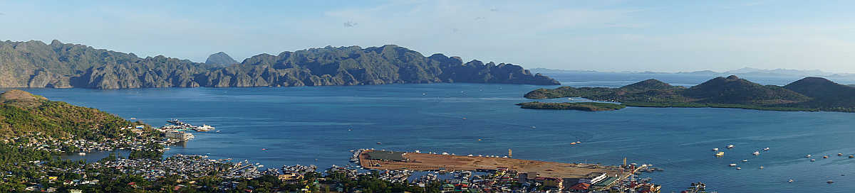 Coron town, Palawan