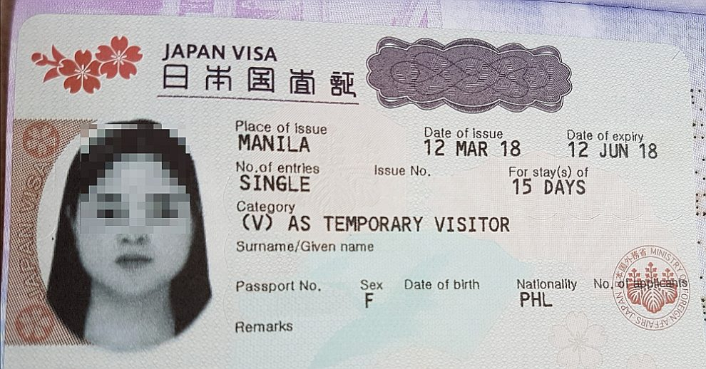Denied Japan Visa on Philippine PAssport