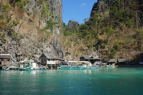 Palawan fishing boats